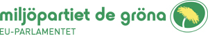 Miljöpartiet de gröna i EU-parlamentet logo