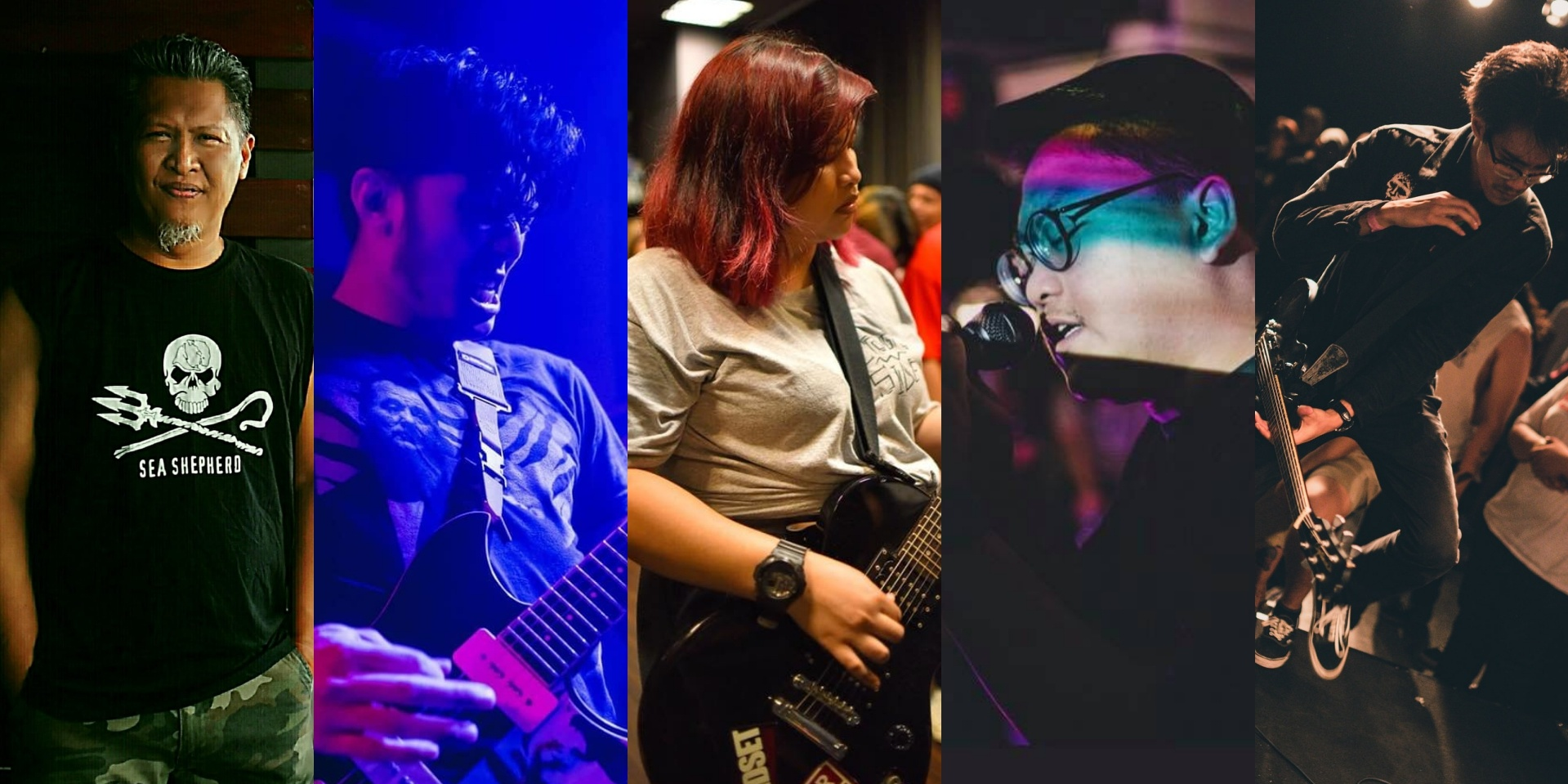 It Might Get Loud: Members of Stompin' Ground, Wormrot, Hollow Threat, Radigals and False Plaintiff celebrate their favourite hardcore songs
