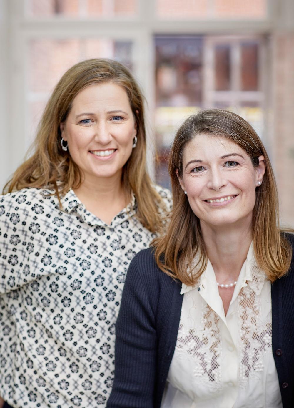 Författarporträtt: Marie Dacke & Låtta Skogh