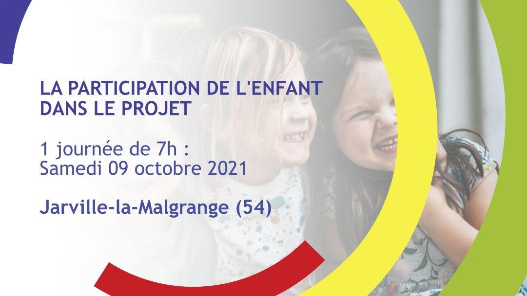 Représentation de la formation : La participation de l'enfant dans le projet ou comment faire de son ACM un lieu démocratique et citoyen