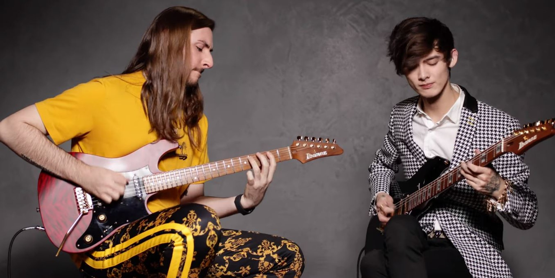 Polyphia demo their signature guitars and pickups – watch