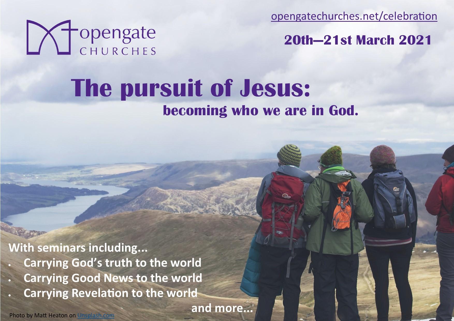 The pursuit of Jesus