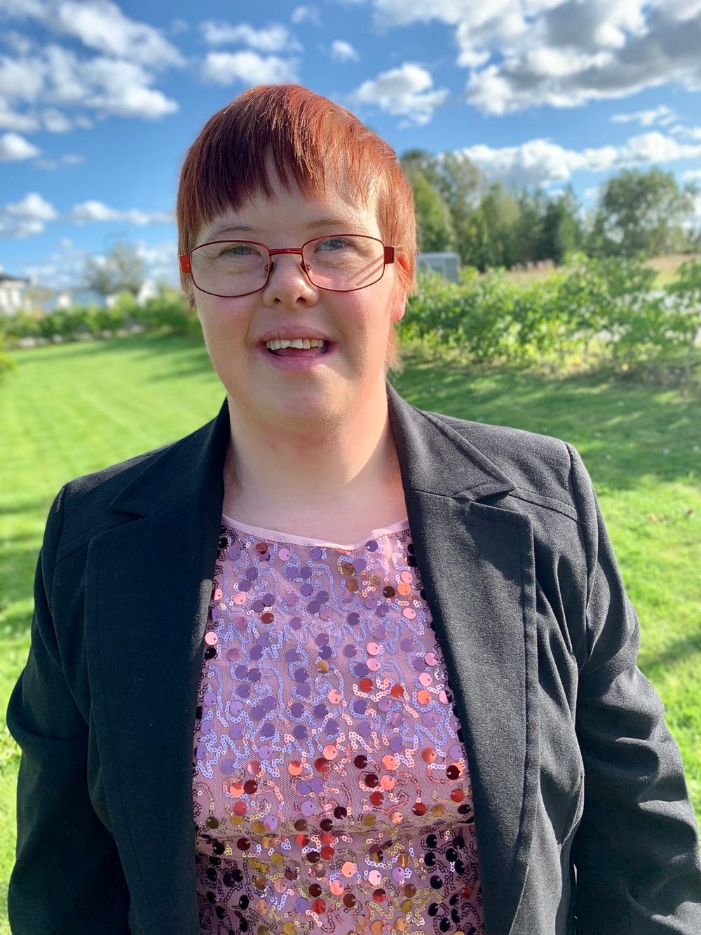 Therese Jansson från Uppsala är en av finalisterna i Musikschlaget 2019.