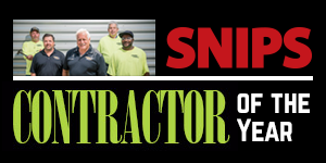 SNIPS Contractor of the Year