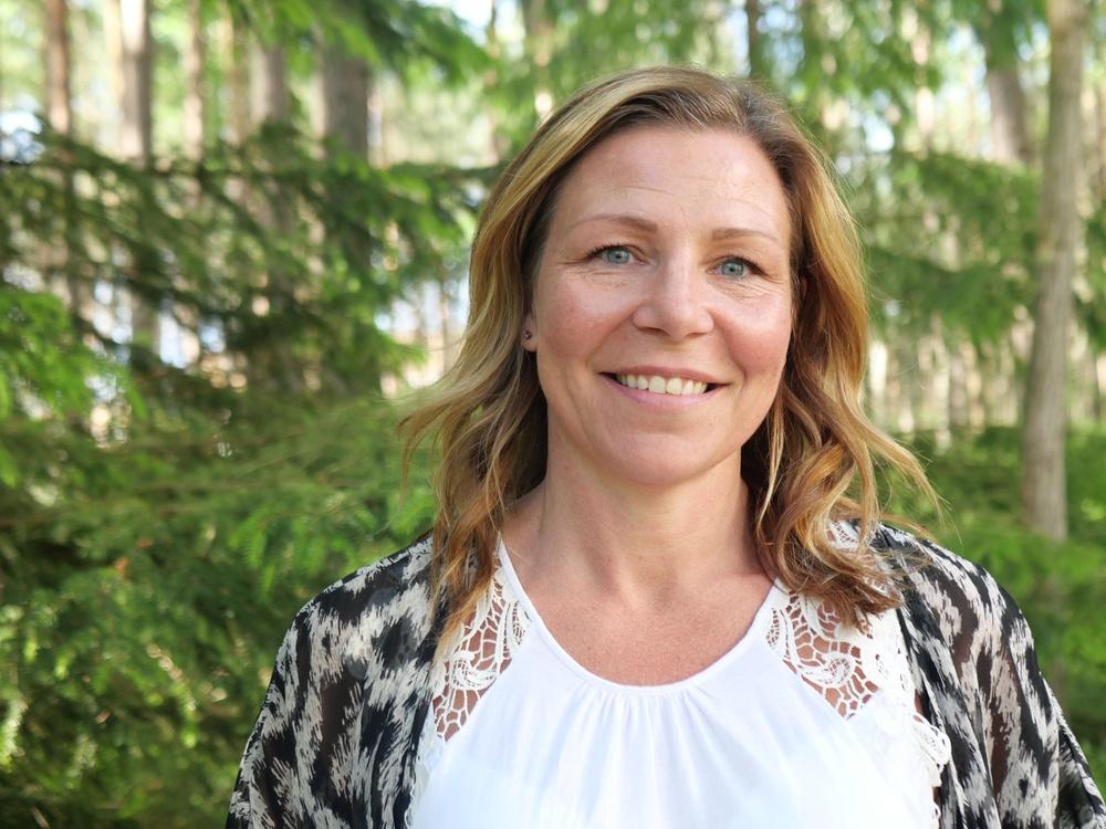 Sandra Sundbäck, tillträdande vd på bioekonomiklustret Paper Province. Foto: Paper Province, Carina Welin
