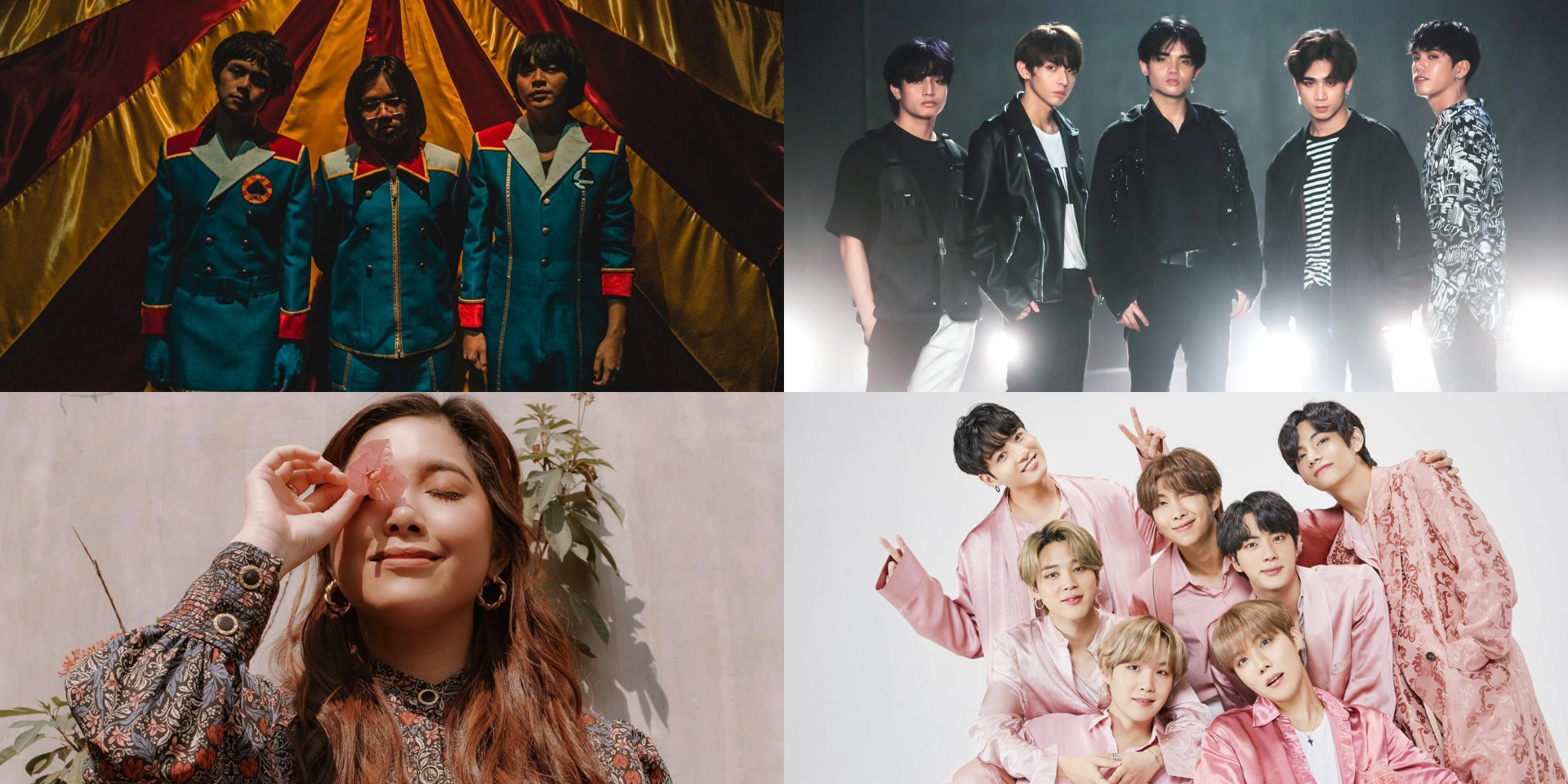 SB19, Moira, IV of Spades, BTS, and more win at the 2020 MYX Awards