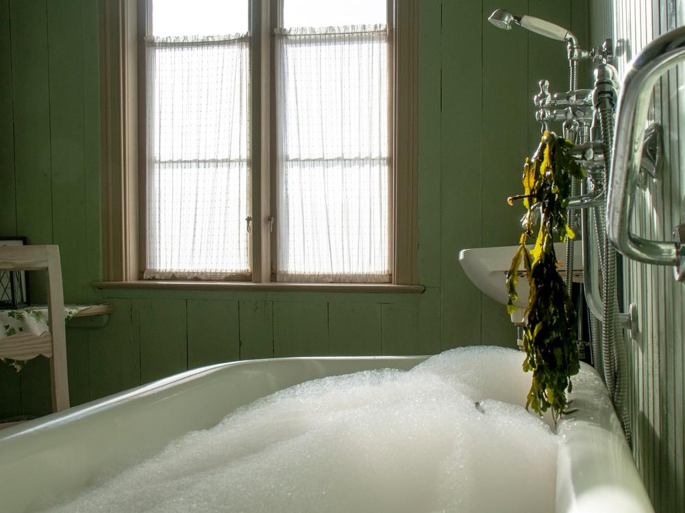 Bathtub at Torekov Warmbadhus