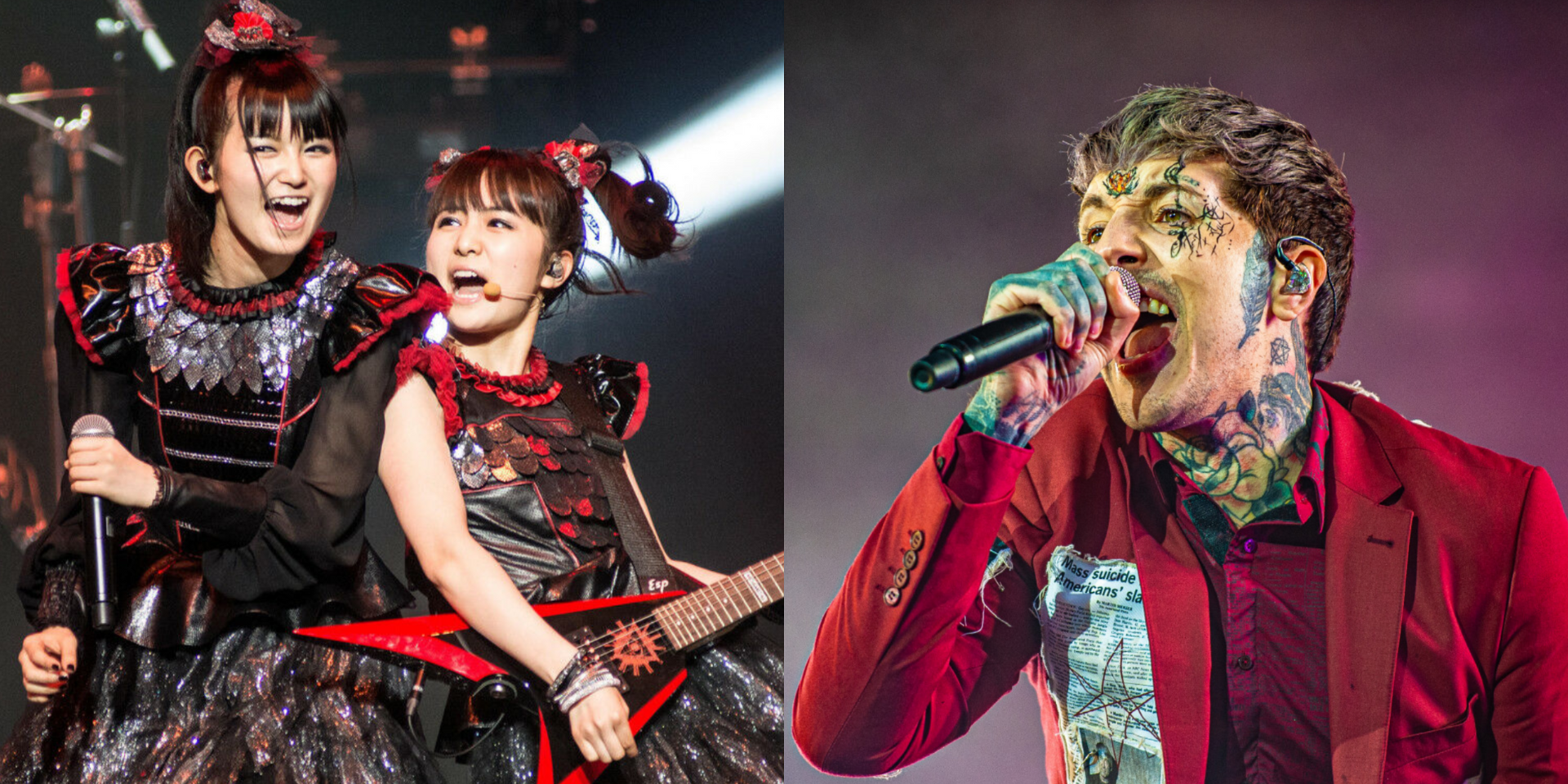 Bring Me The Horizon to support BABYMETAL for the METAL GALAXY WORLD  TOUR IN JAPAN this November