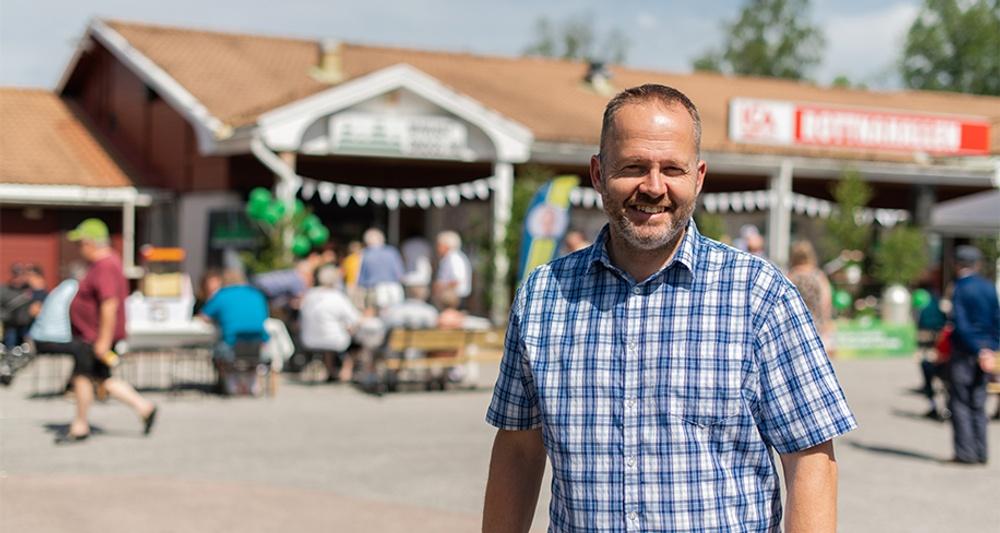 Pär Skinnnargård, vd på Nykvist Skogs. Foto: Nykvist Skogs