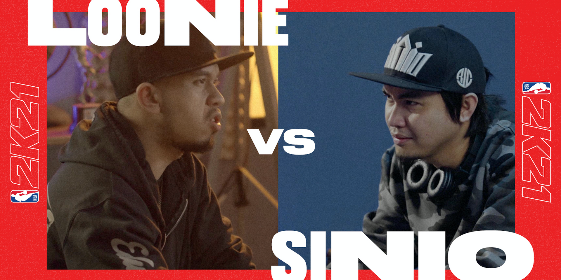 FlipTop legends Loonie and Sinio face off in rap battle on NBA 2K21 - watch