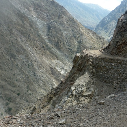 The Jeep route to Fairy Meadows