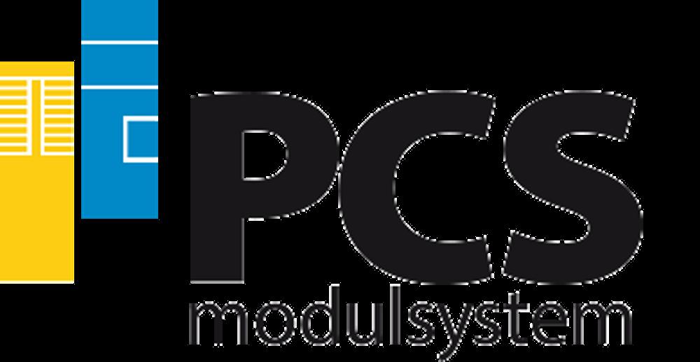 PNG-logo för PCS Modulssystem AB