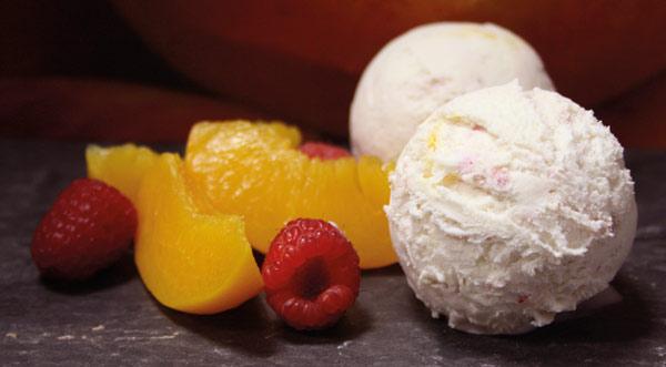 peach melba-ice-cream