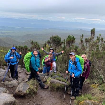 Mount Kilimanjaro 7 Day Lemosho Route