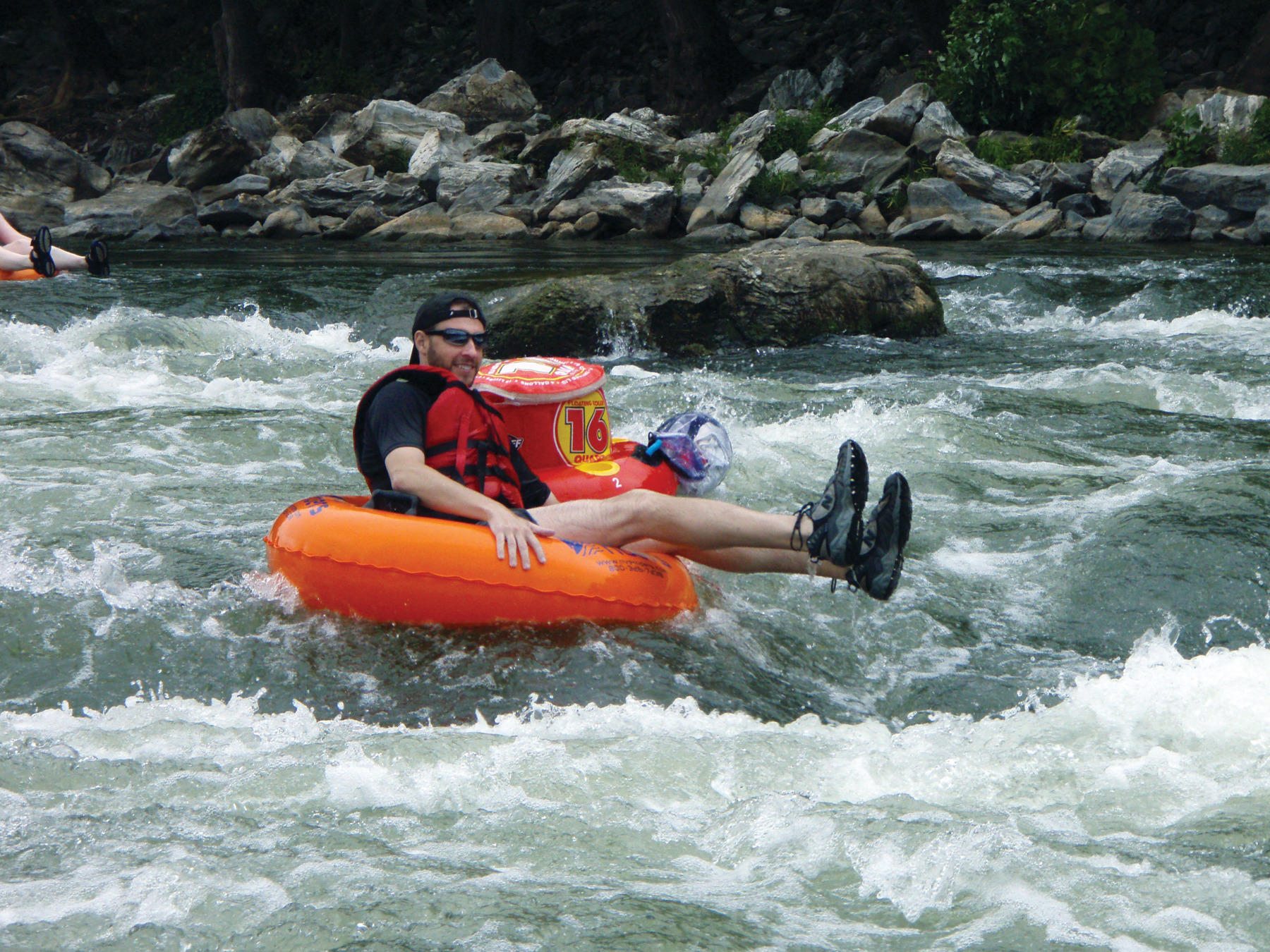 full day tubing - harpers ferry