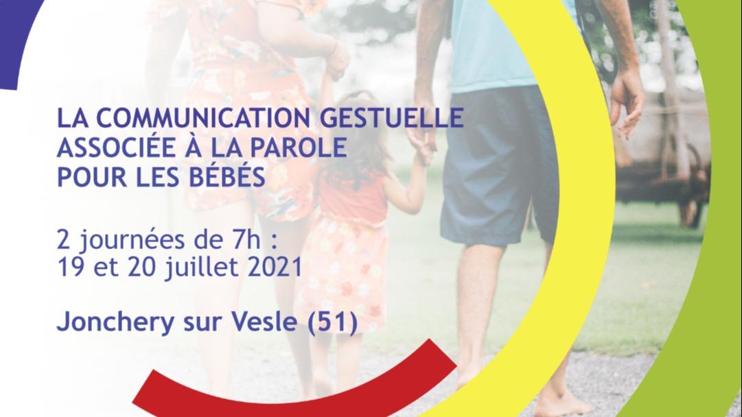 Représentation de la formation : La communication gestuelle associée à la parole pour les bébés - Jonchery-sur-Vesle (51)