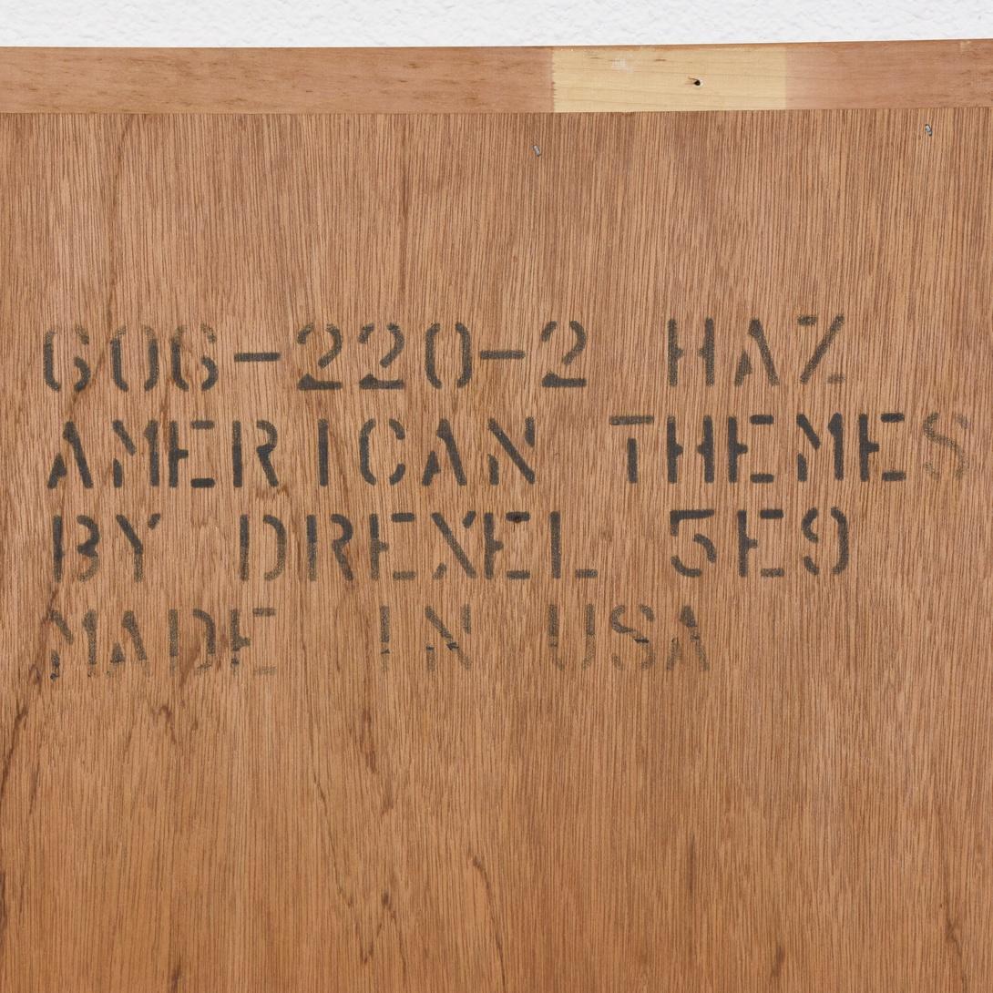 Quot Drexel Heritage Quot Wall Mirror Loveseat Vintage Furniture