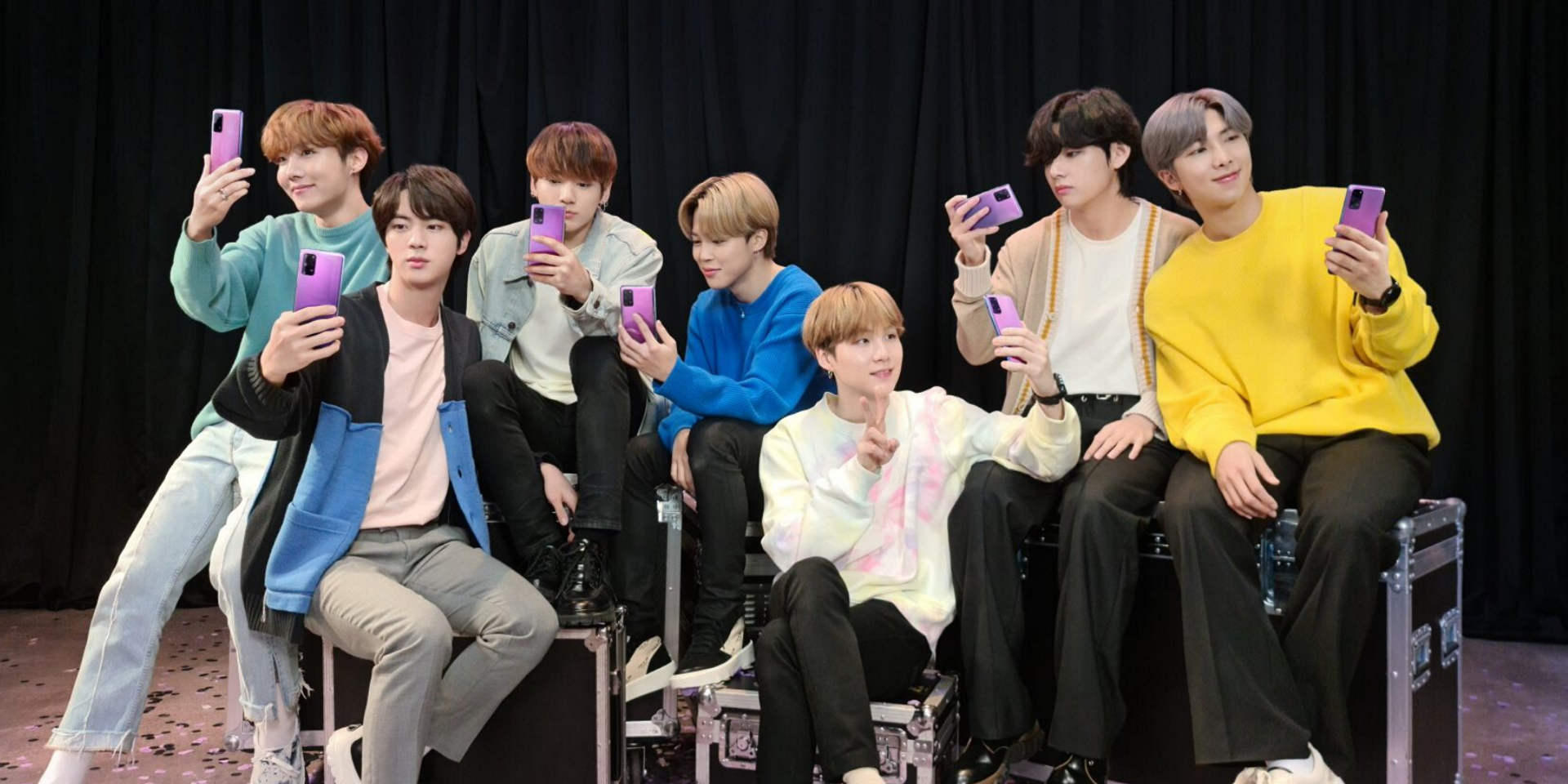 How the Internet is reacting to BTS' new purple phone
