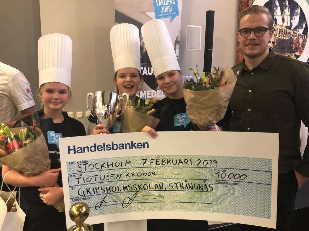 Vinnare av Kockduellen 2019 Gripsholmsskolan