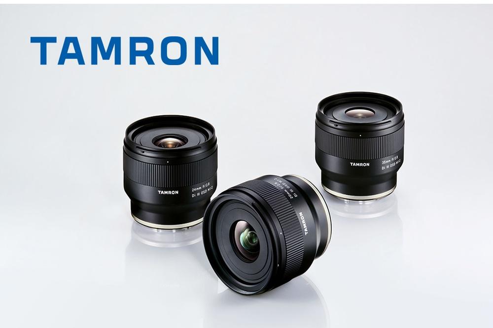 Tamron wprowadza trzy nowe obiektywy stałoogniskowe Sony FE