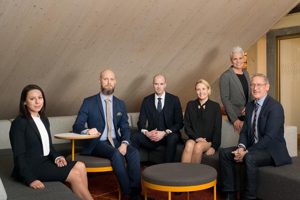 Advokatbolaget, gruppbild.