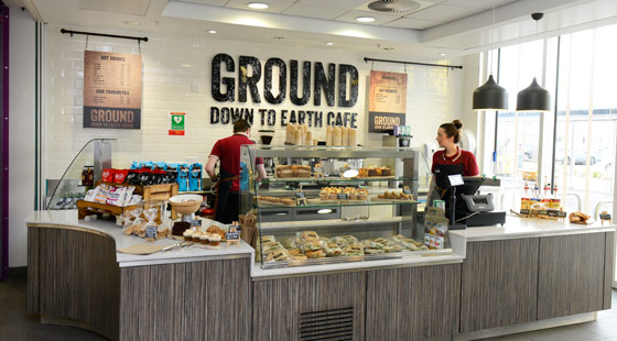 CH&Co's Ground Cafe, Salford General Hospital