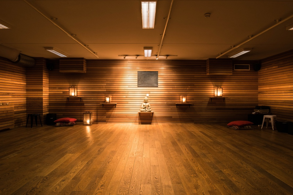 Training/yoga facilities at Torekov Hotell