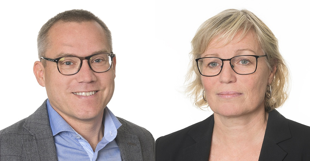 Björn Wendle och Lena Smidfelt Rosqvist