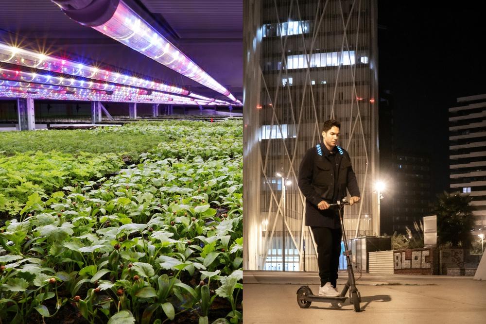 Grönska och Light Flex Technologies – vinnare av Stockholms Accelerationsstipendium 2020. Fotograf bild t.v. Johan Marklund