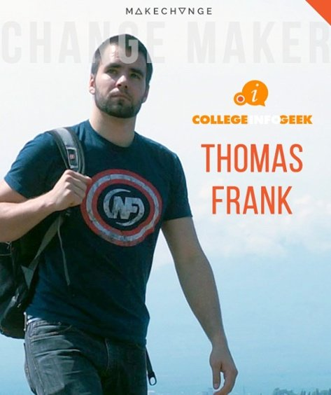 Thomas Frank, founder of College Info Geek, shares how he started his business in a college dorm.