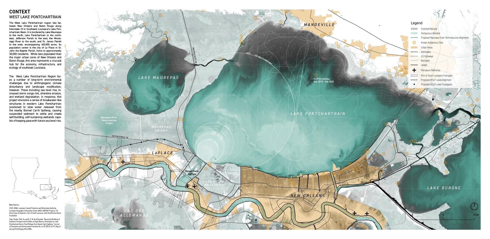 The West Lake Pontchartrain Region