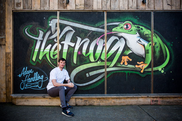 Adam Handling at the Frog
