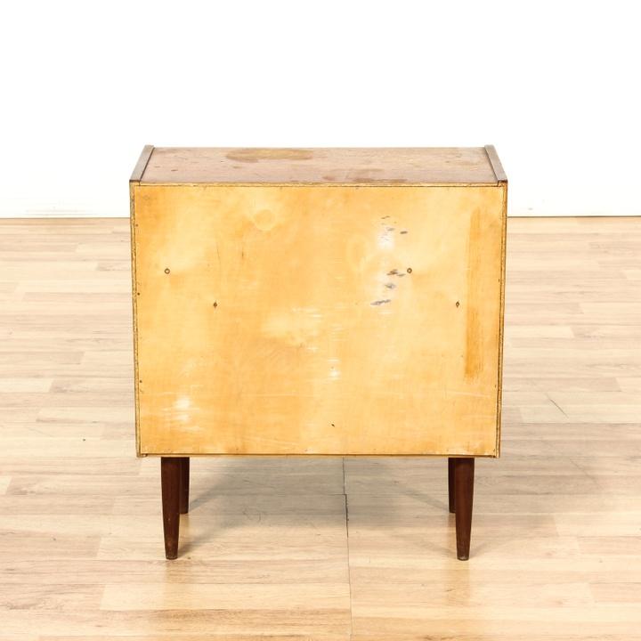 Danish modern teak small chest of drawers dresser for Danish modern la