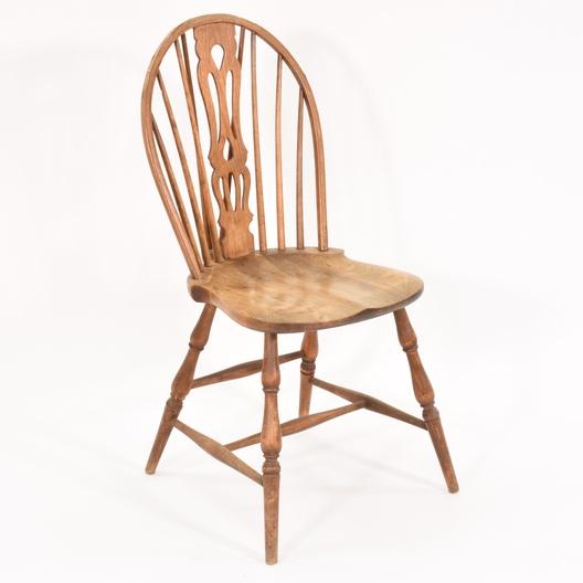 Set Of 4 Vintage Solid Wood Dining Chairs Loveseat Vintage Furniture San Diego
