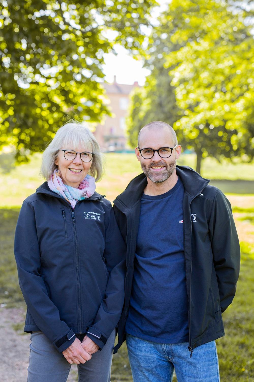 Pia Andersson och Erik Bodin