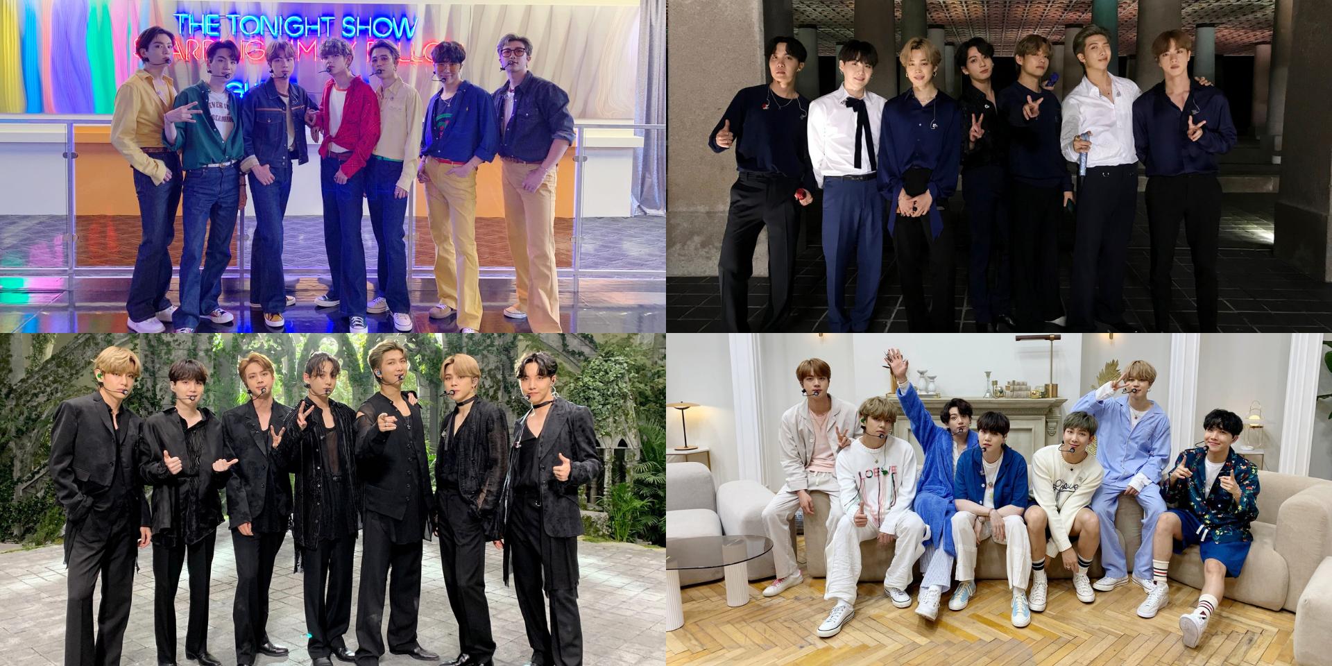 Watch BTS perform 'IDOL', 'HOME, 'Black Swan', 'Mikrokosmos', and 'Dynamite' on BTS Week