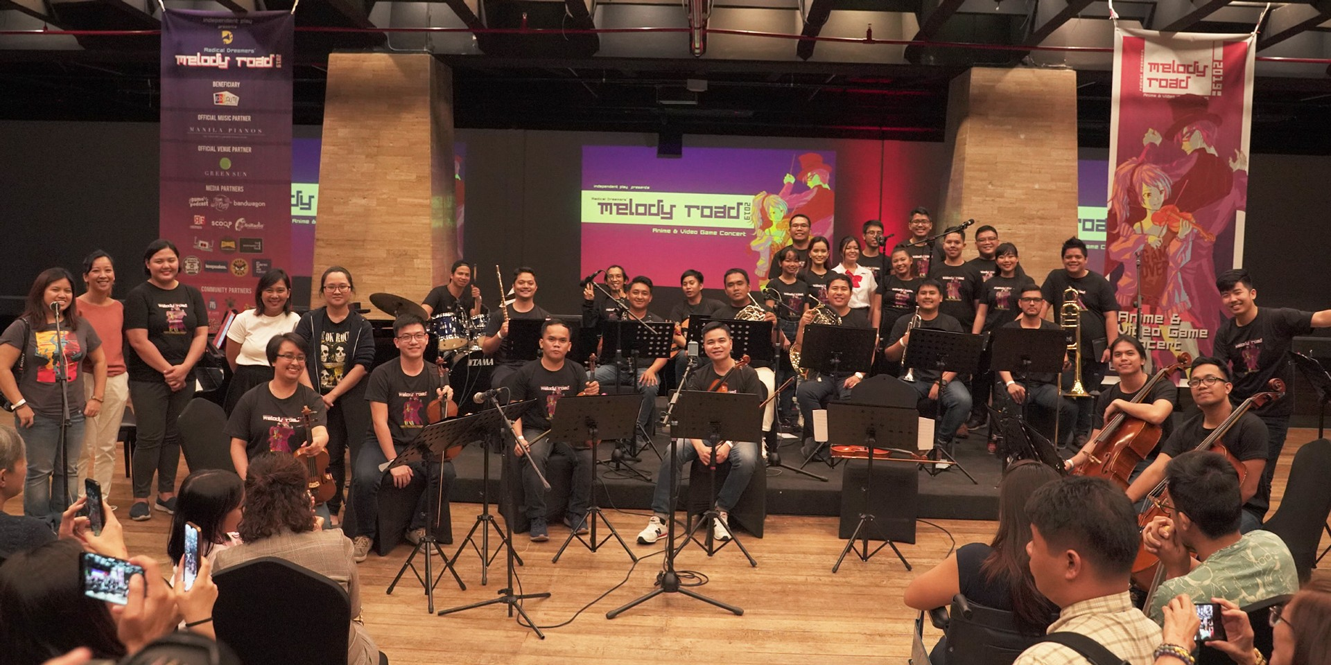 Animé fans celebrate their favorite soundtracks at Melody Road Chamber Orchestra Concert