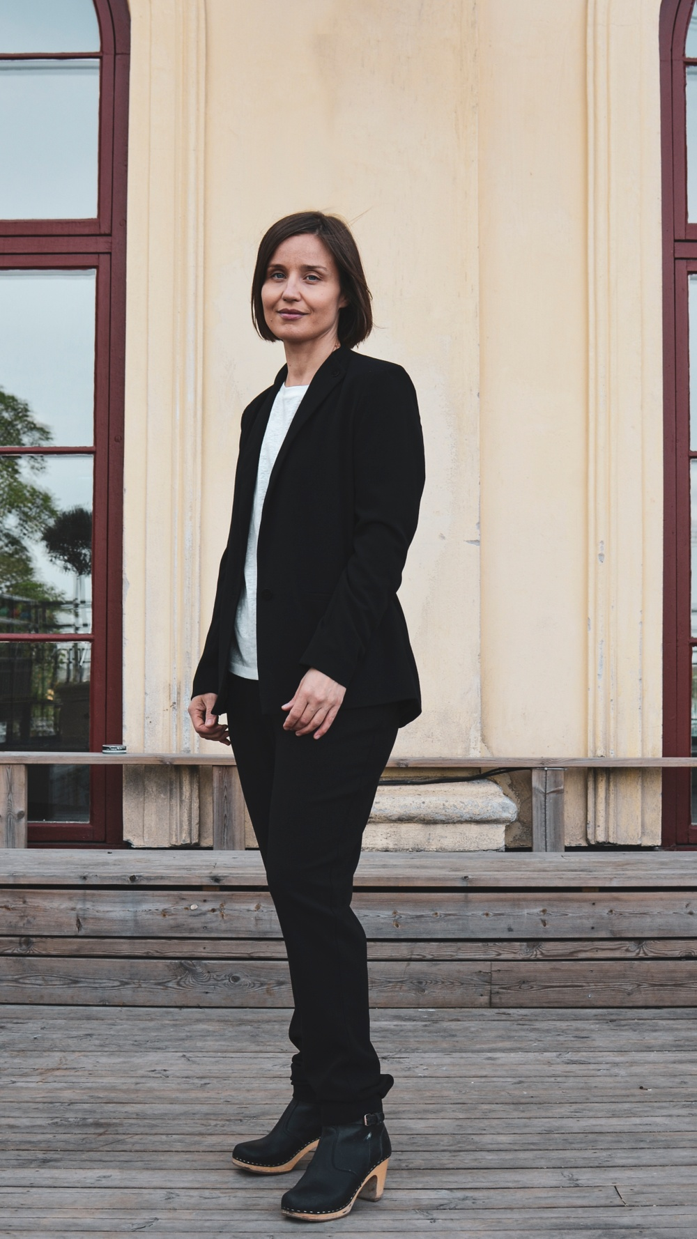 20/8 Karin Ström (HI-TECH HOES) Sommar 2019 i Champagnebaren, Södra Teatern Foto: Karin Bernhardsson