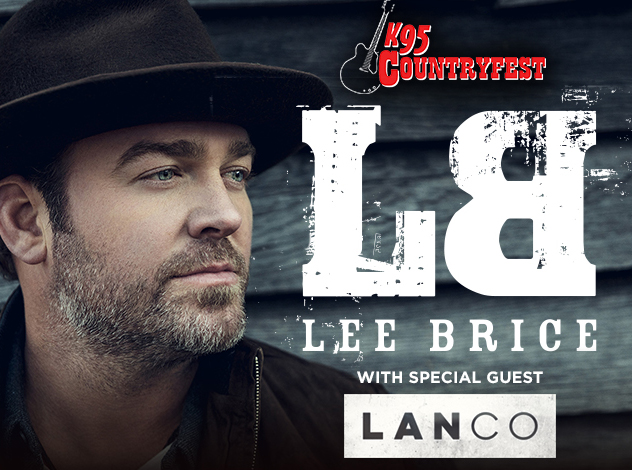 IAH- K95 Countryfest- Lee Brice, July 6, 2018, gates 5pm