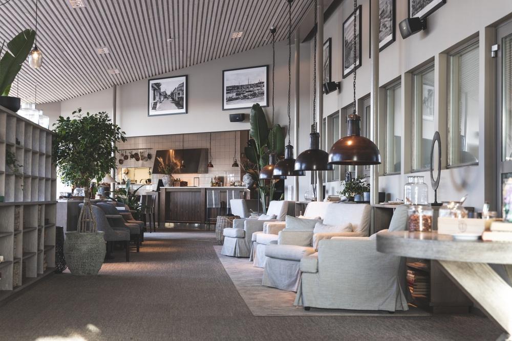 Interior, spa lounge. Photo: Foto: Anders Karolyi