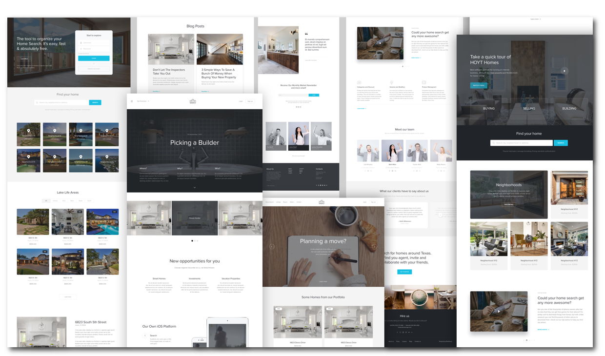 Custom websites & proven themes.