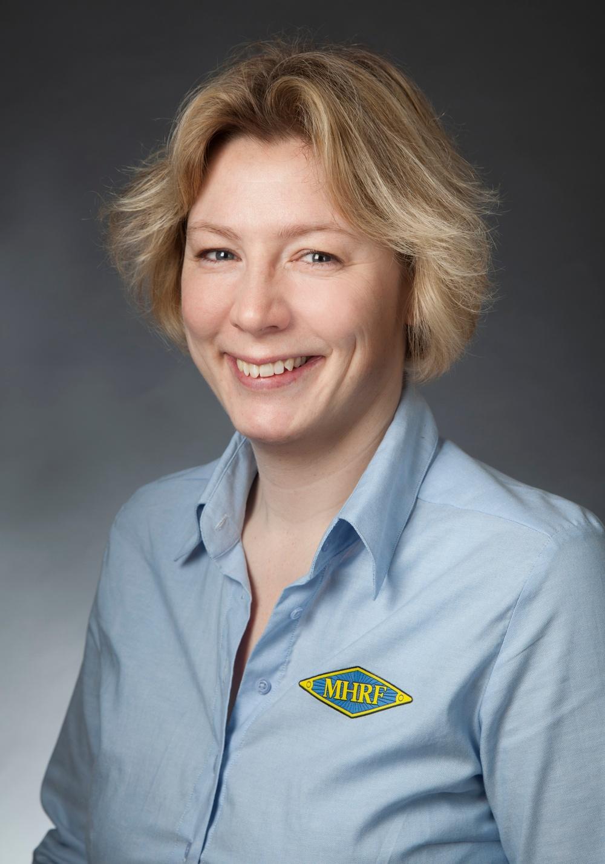 MHRFs kanslichef Malin Erfeldt.  Fotograf: Therése Särnbäck