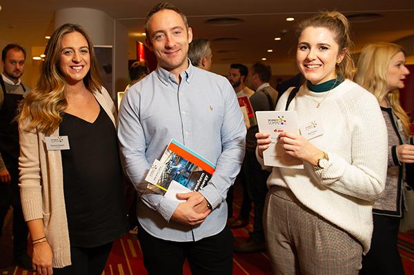 From left: Gemma Keegan, Matt Grech-Smith, Ella Parkes.