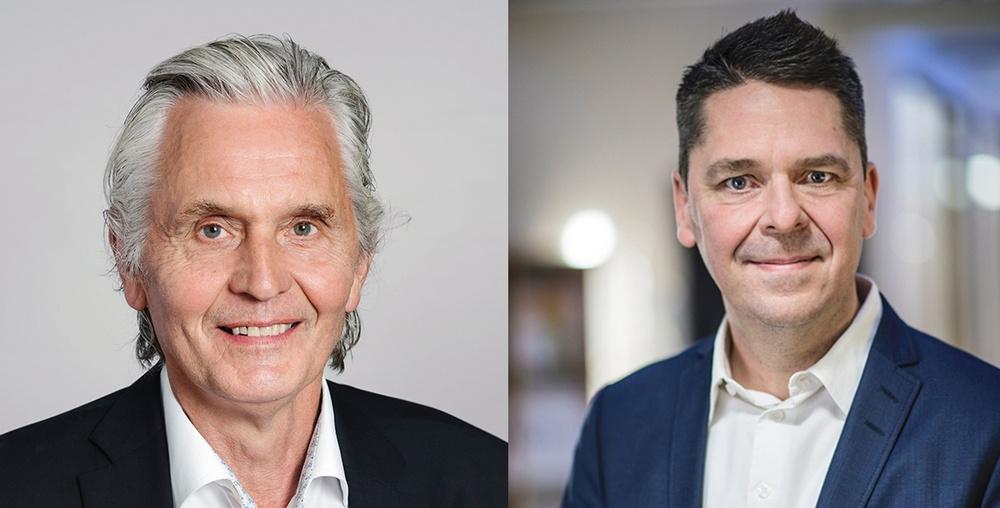 Bengt-Erik Lindgren till styrelsens ordförande och Jörgen Larsson till vice ordförande.