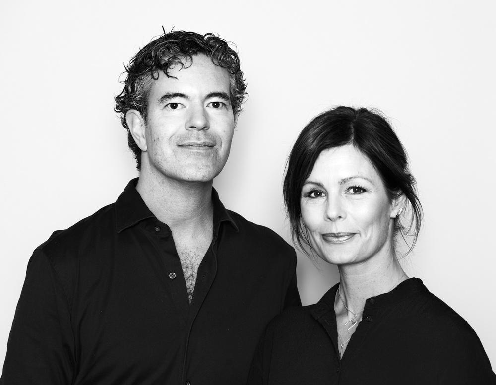 Författarporträtt: Henrik Mitelman & Malin Lauterbach