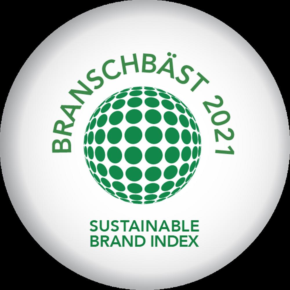Synsam Branschbäst Sustainable Brand Index 2021