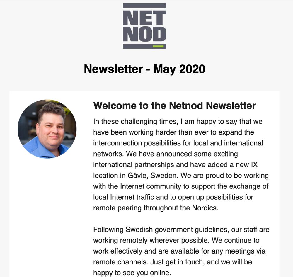 Newsletter May Header