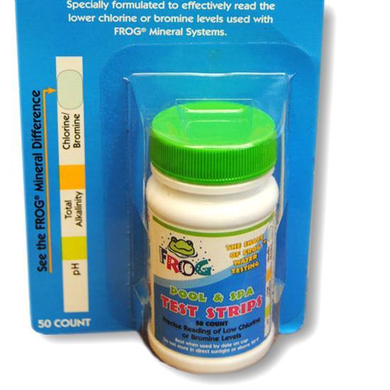 SpaFrog teststrips pH/bromin/alkalitet