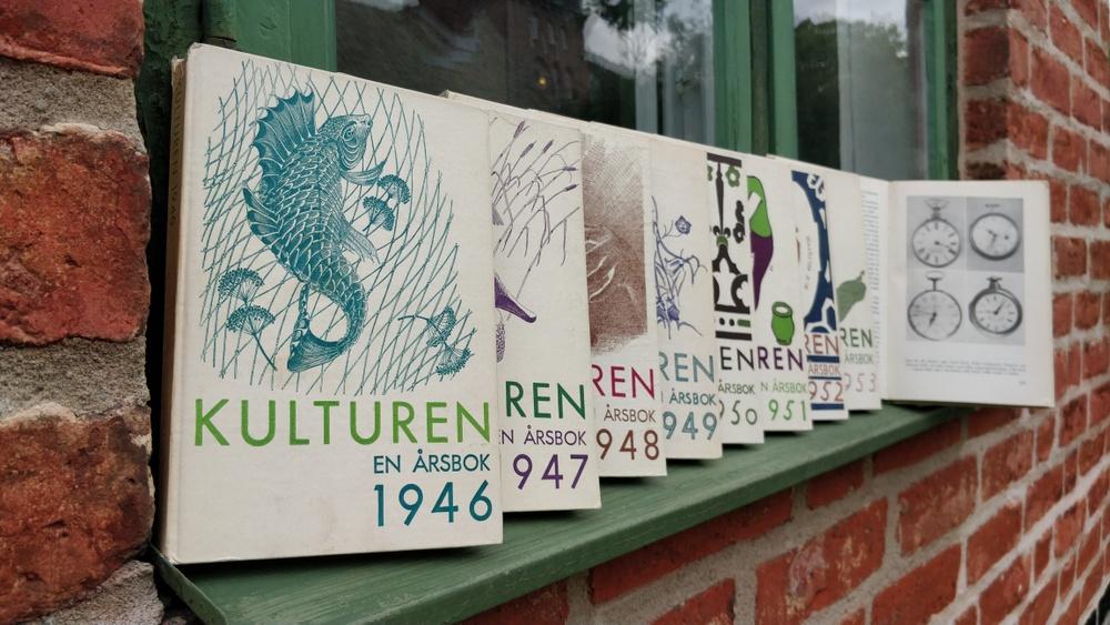 Kulturens årsböcker, en tidlös utgåva? Fotograf: Johan Hofvendahl/Kulturen