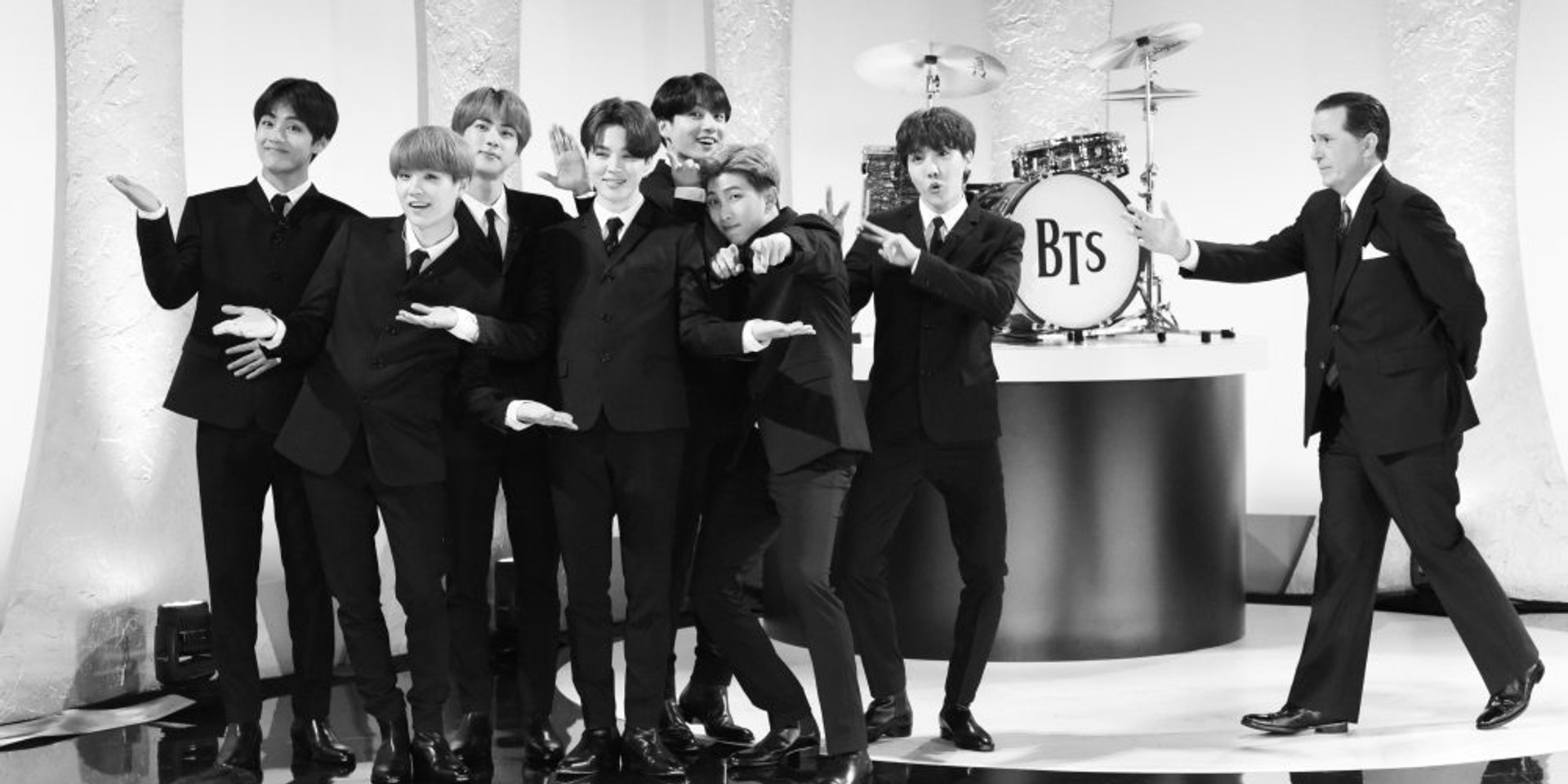 Twitter reacts to BTS' homage to The Beatles on the Late Show with Stephen Colbert